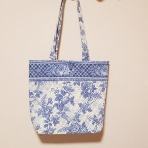 Vera Bradley blue and white tote